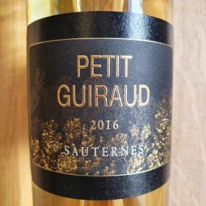 Petit Guiraud 2016 1/2 bt