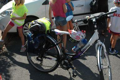 Le vélo d'Inès