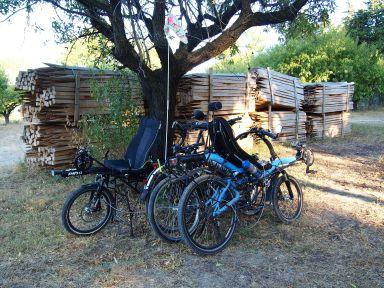 Le repos des vélos