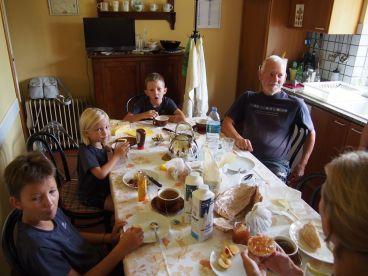 Petit-déj avec Sebastiano et Enrica: Merci!
