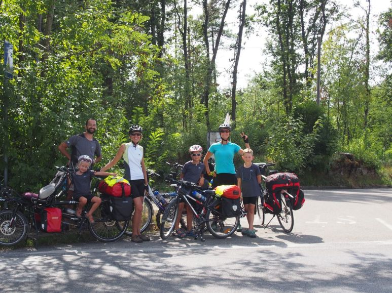Rencontre avec Camille (cyclotouriste française)