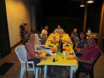 Un super diner italien chez les Mattii
