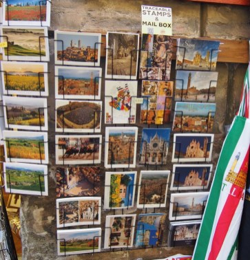 On vous envoie des cartes postales de Sienne !