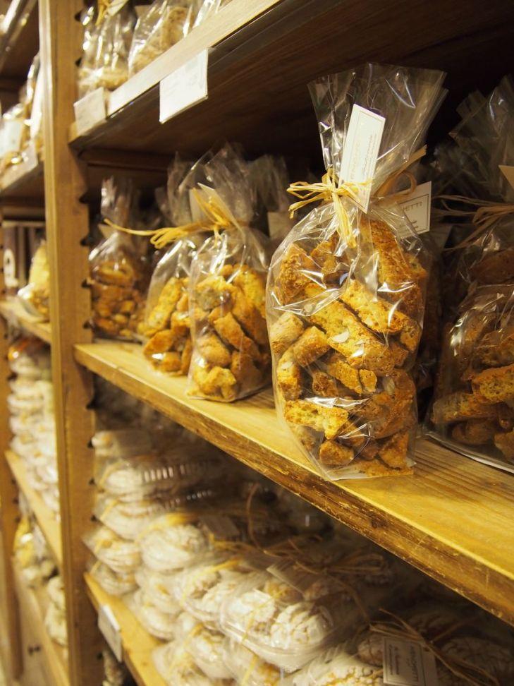 La cuisine italienne: les croquants aux amandes
