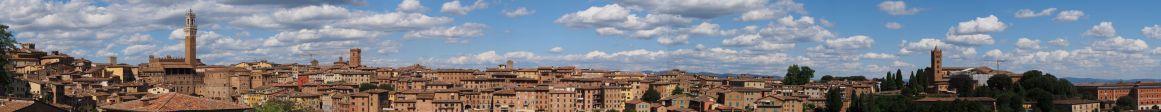 Panorama de Sienne