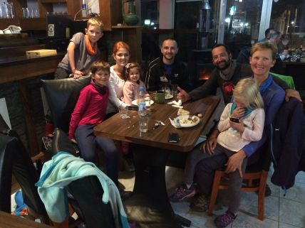 Merci à Alban et sa famille pour le super accueil à Ferizaj
