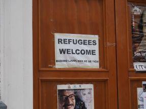 Ici on sait accueillir les réfugiés...