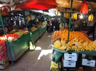 Le marché turc à Skopje