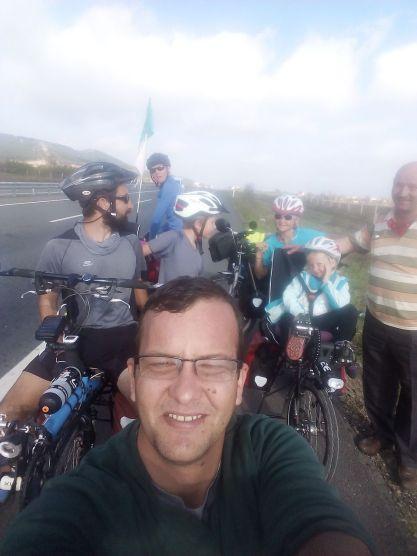 Seflie avec les Cham à vélo: un must !