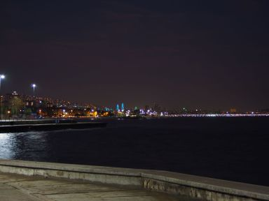 Istanbul by night (asian side)
