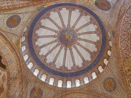 Le dome de la mosquée Sultanhamet