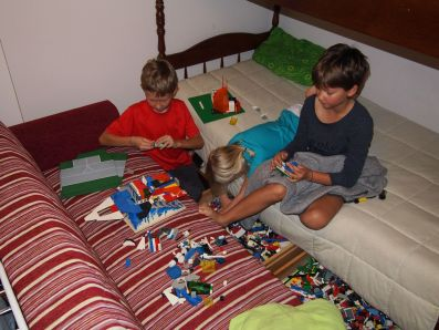 Ah les Legos, indémodables !