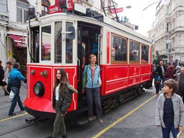 Le charme d'un vieux tram