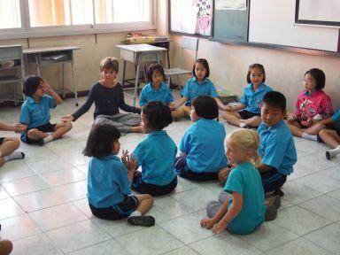 Rencontre avec des écoliers