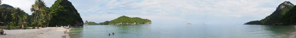 plage de Koh Wua Talap (Ang Thong)