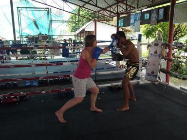 Découverte de la boxe Thaï en famille (1)