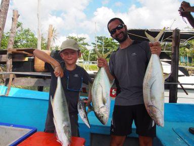 Belle journée de pêche !