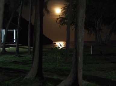 Clair de lune à Sam Phraya Beach