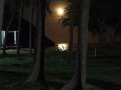Clair de lune à Sam Phraya Beach