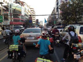 Circulation (façon de parler) à Phnom Penh