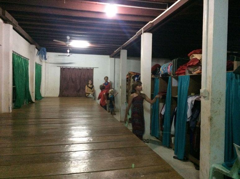 Visite de l'internat de l'AFS Cambodge
