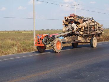 Découverte du tracteur à 2 roues