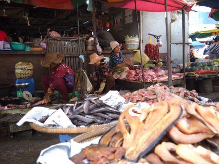 Marché de Battambang