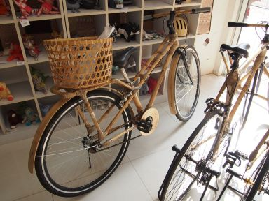 Des vélos en bambous : top class !