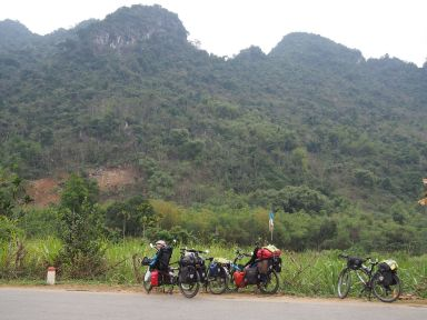 Montagnes de bambous