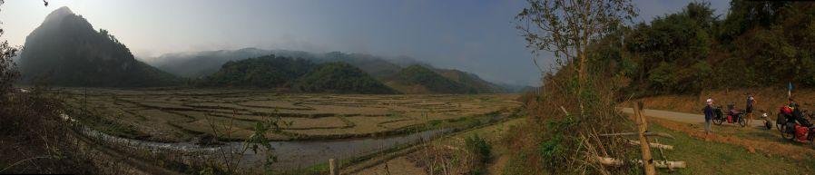 Paysage du Nord Laos