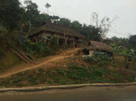 Maison traditionnelle dans cette partie du Vietnam