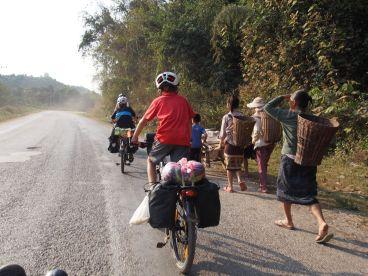 Sur la route au Nord du Laos