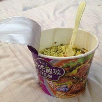 En Chine on mange ... des nouilles chinoises !