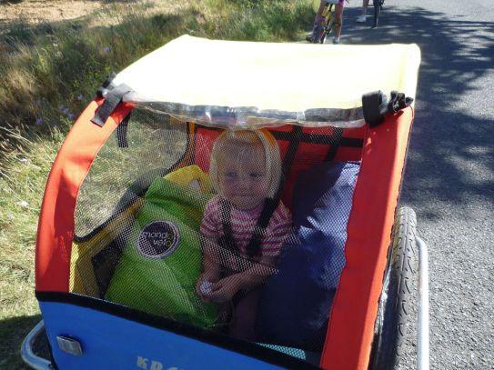 Sagement dans la carriole
