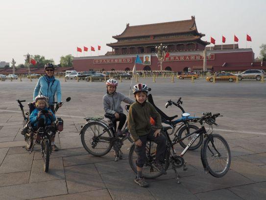 Visite de Beijing à vélo (entre Tian'an men et la Cité Interdite)