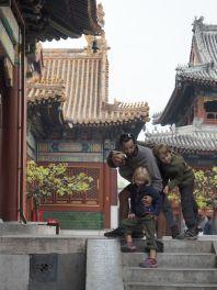 Au temple du Lama