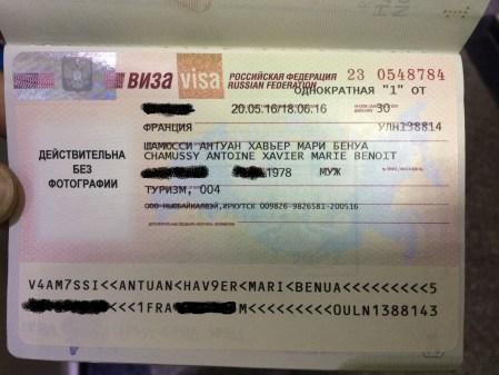 1 mois pour traverser la Russie