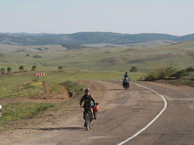 Sur la route vers Ulan Ude