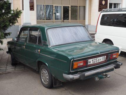 Présente de la frontière mongole à celle de Finlande, la fameuse Lada russe