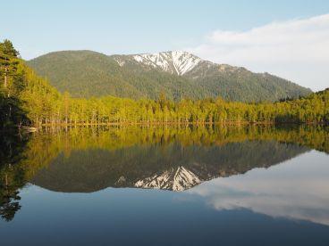 Un petit lac à quelques km du grand Baïkal