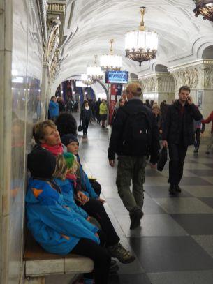 Du tourisme dans le métro...