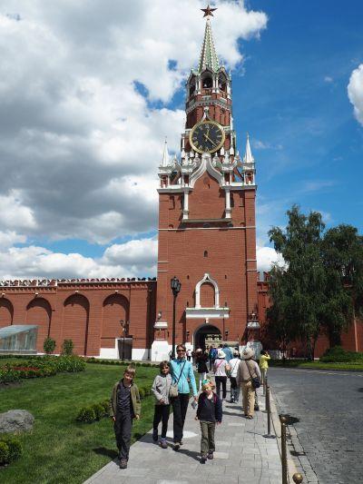 Sortie vers la Place Rouge par la tour du Sauveur