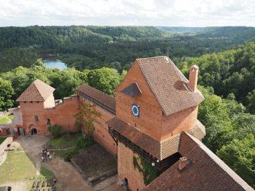 Visite du chateau médiéval de Turaida