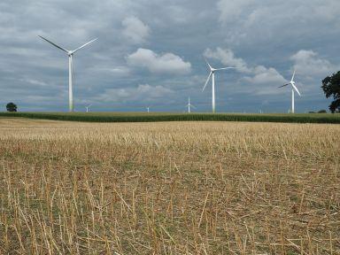 Des éoliennes évidemment!
