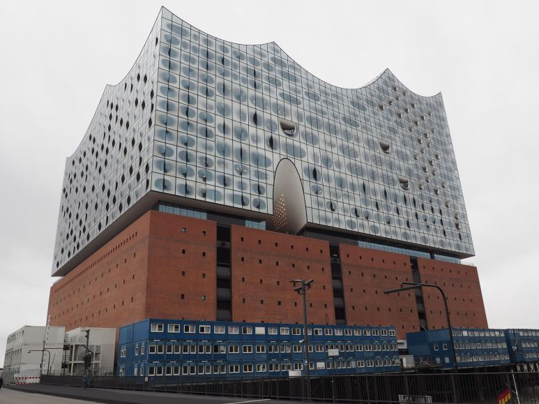 L'opéra et son architecture futuriste