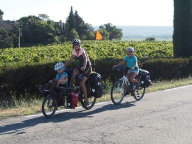 Sur les routes de Châteauneuf-du-Pape