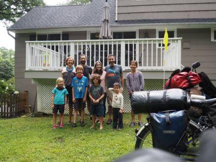 Chez Michelle et sa famille