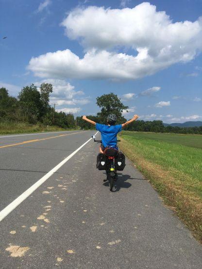 le voyage à vélo c'est le top !