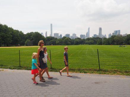 Balade dans Central Park