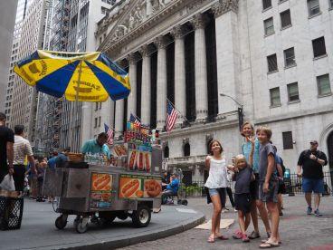 La gastronomie de Wall Street ...